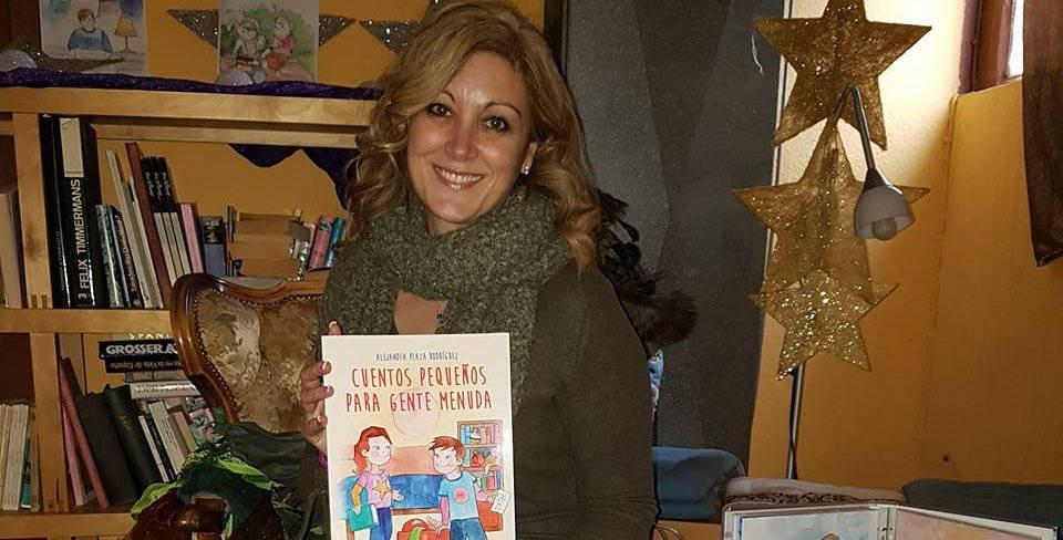 """Presentación do libro """"Cuentos pequeños para gente menuda"""""""